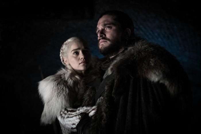 Daenerys y John Snow