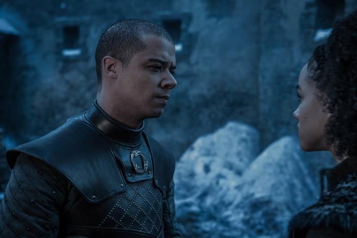 Game of Thrones Grey Worm y Missandei