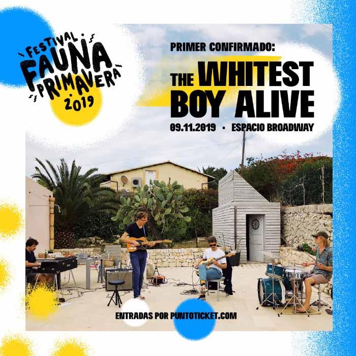 Fauna Primavera The Whitest Boy Alive