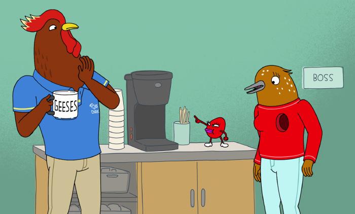 Tuca & Betie, una delirante serie animada de pájaras de 30 2