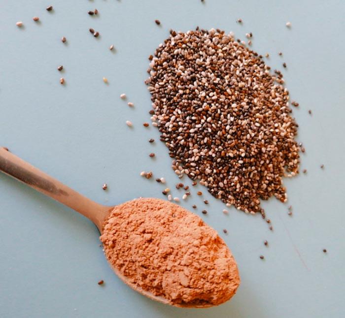 Receta: Pudín de chía y cacao 1