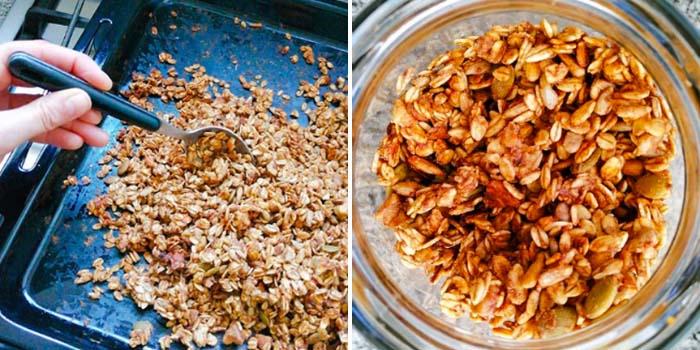 hacer granola en casa