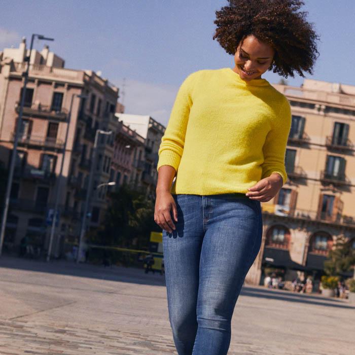 #Tonosdeazul en H&M: tu figura, tu Denim 1
