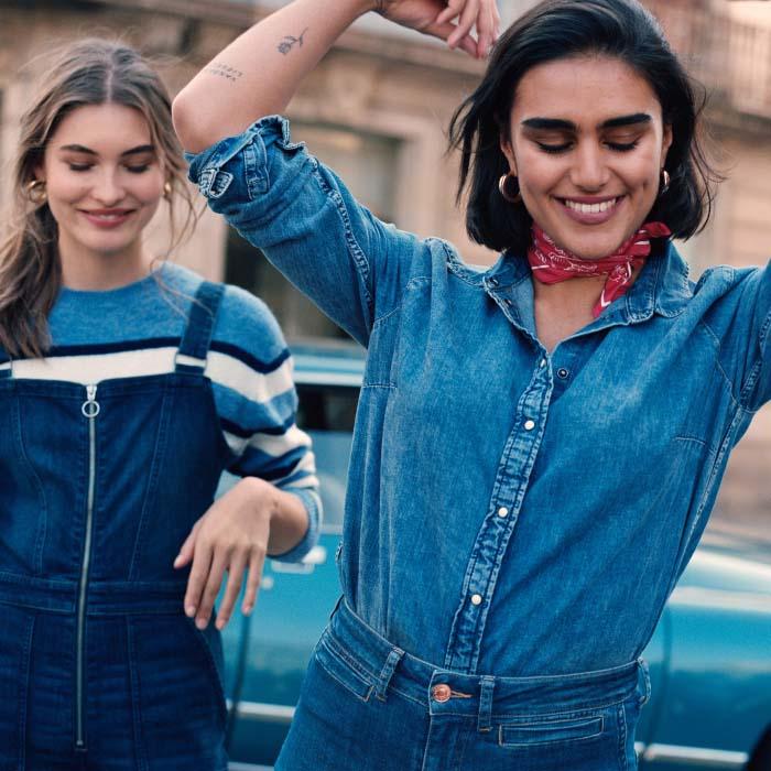 #Tonosdeazul en H&M: tu figura, tu Denim 3