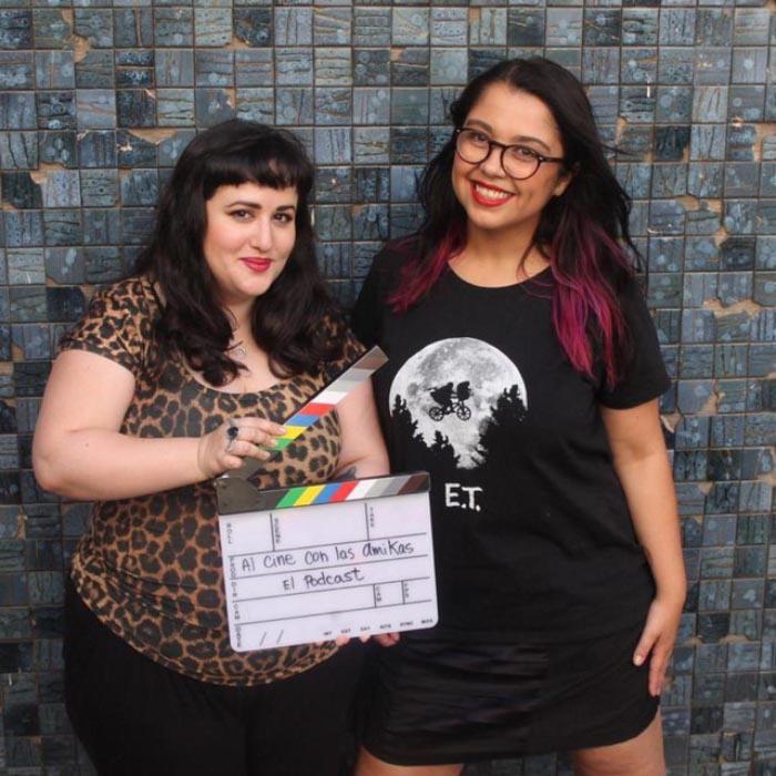 Cuestionario cinematográfico a Negra Cesante y a Valeria Luna, del podcast Al cine con las amikas 3