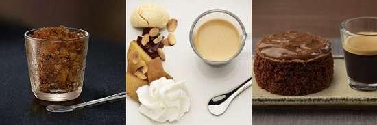 día del café recetas dulces
