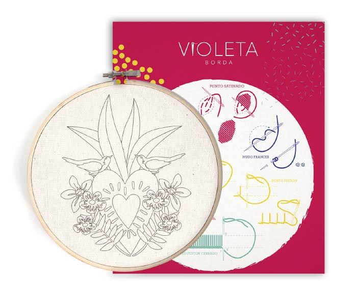 Violeta Imagina, un emprendimiento que fomenta el bordado y la creatividad 2