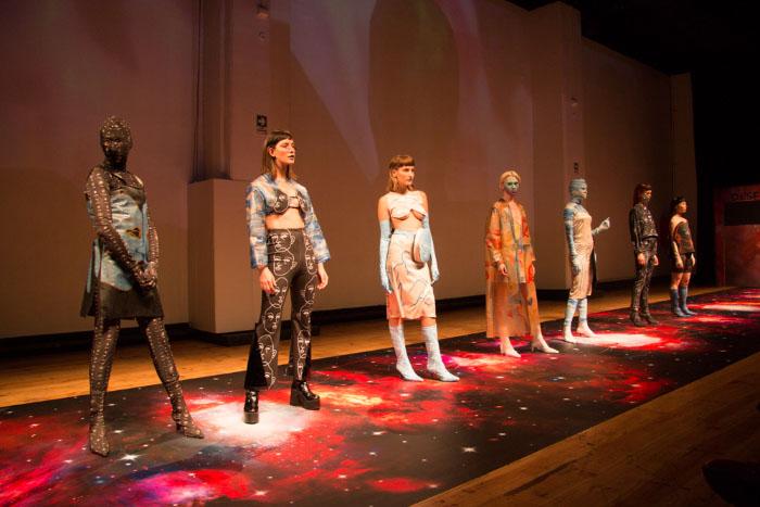 Pasarela Epson: Tecnología, moda y astronomía se unieron en el Desfile Cosmos 3