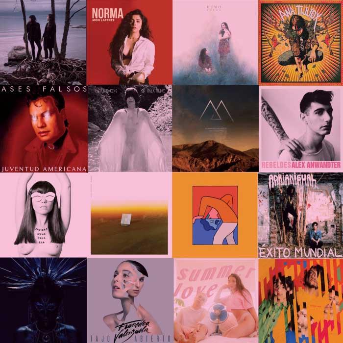 mejores discos chilenos de la década