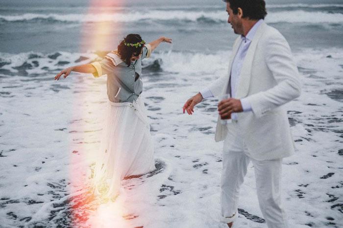 The Richters, video y fotos de matrimonio que registran el lado salvaje del amor 1
