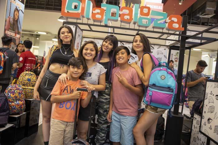 Lanzamiento de la nueva colección oficial de mochilas Xtrem Lollapalooza 1