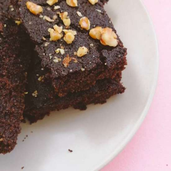 brownie de chocolate sin gluten
