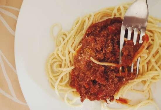 salsa boloñesa deliciosa
