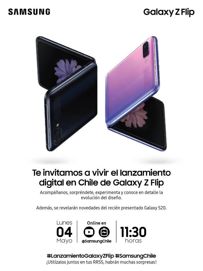 Lanzamiento online del Galaxy Z Flip: 4 de mayo a las 11:30 1