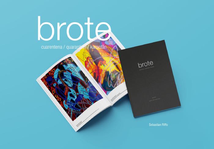 Brote, arte visual desde el confinamiento en una bella edición digital 1