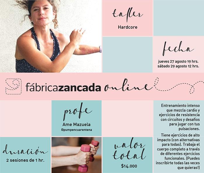 Inscríbete en los talleres de Fábrica Zancada Online 18