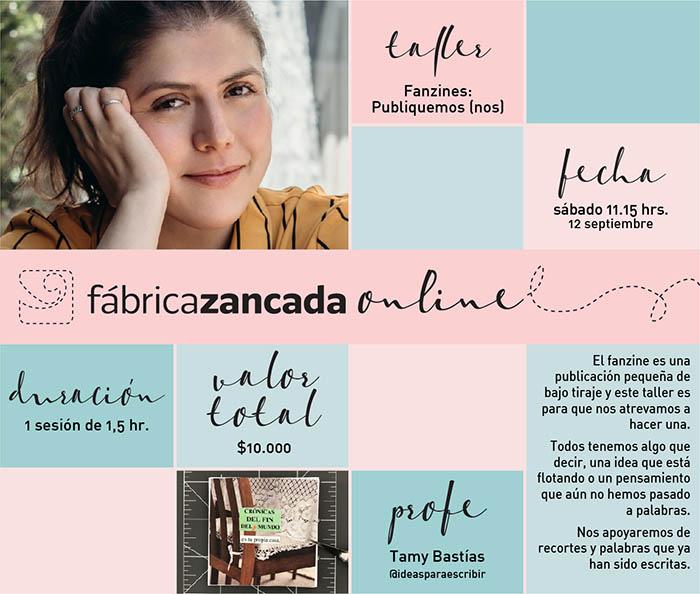 Inscríbete en los talleres de Fábrica Zancada Online 14