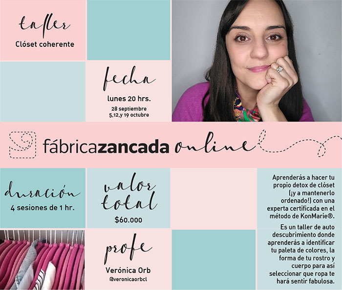 Inscríbete en los talleres de Fábrica Zancada Online 13