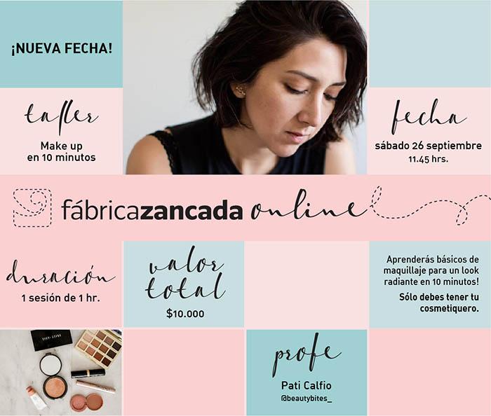 Inscríbete en los talleres de Fábrica Zancada Online 7