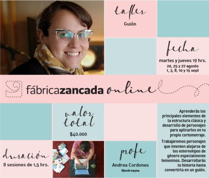 Inscríbete en los talleres de Fábrica Zancada Online 12