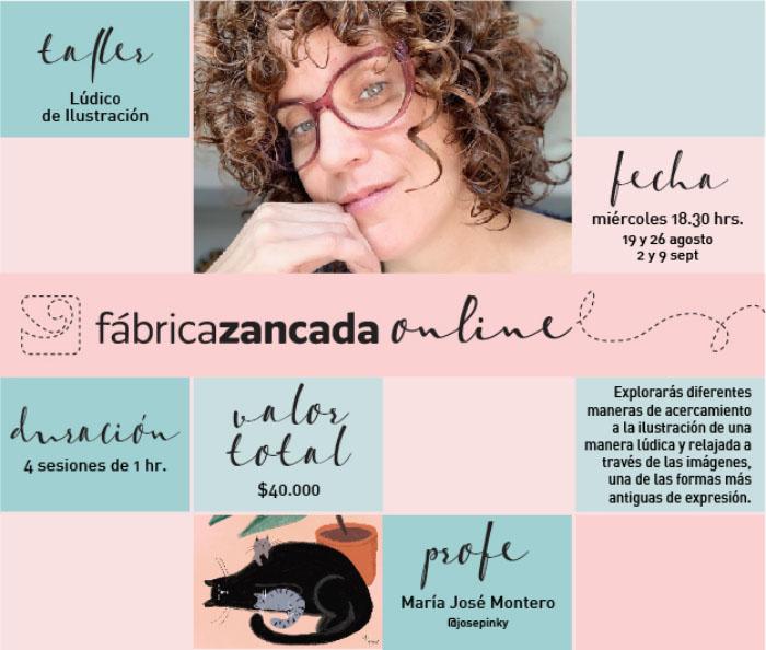 Inscríbete en los talleres de Fábrica Zancada Online 11