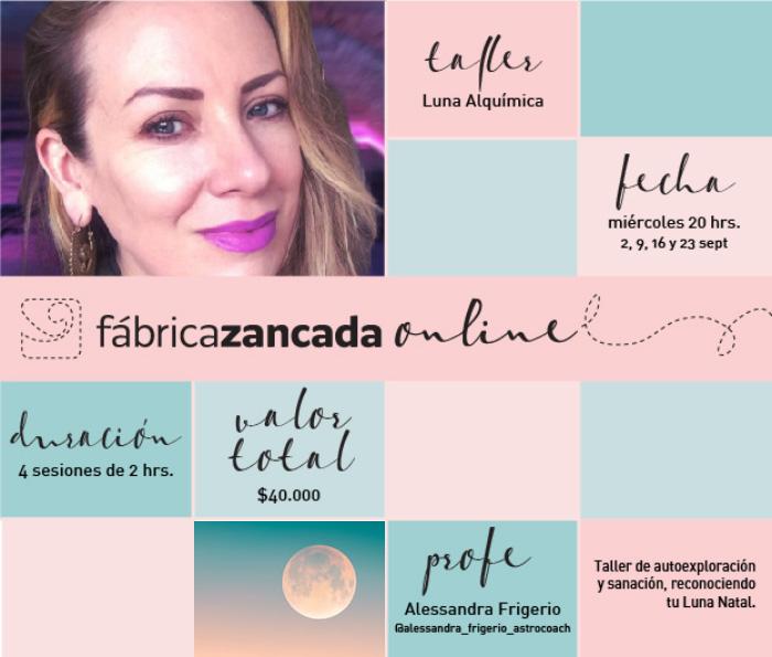 Inscríbete en los talleres de Fábrica Zancada Online 8