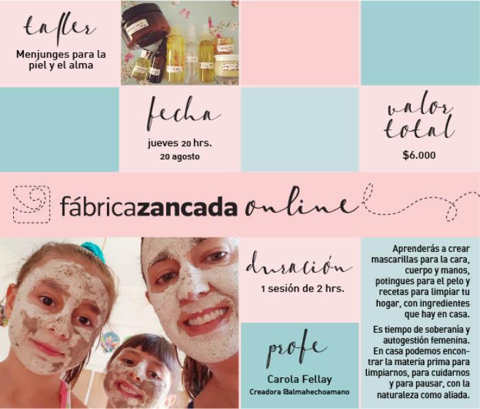 Inscríbete en los talleres de Fábrica Zancada Online 5