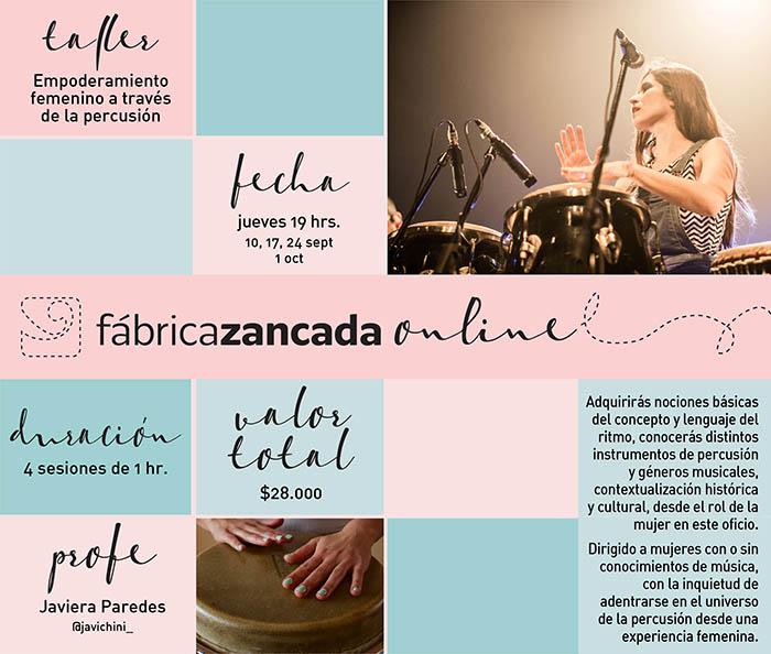 Entrevista a Javiera Paredes, percusionista 2