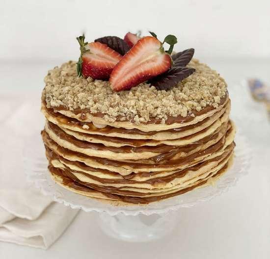 Torta de alfajor chileno