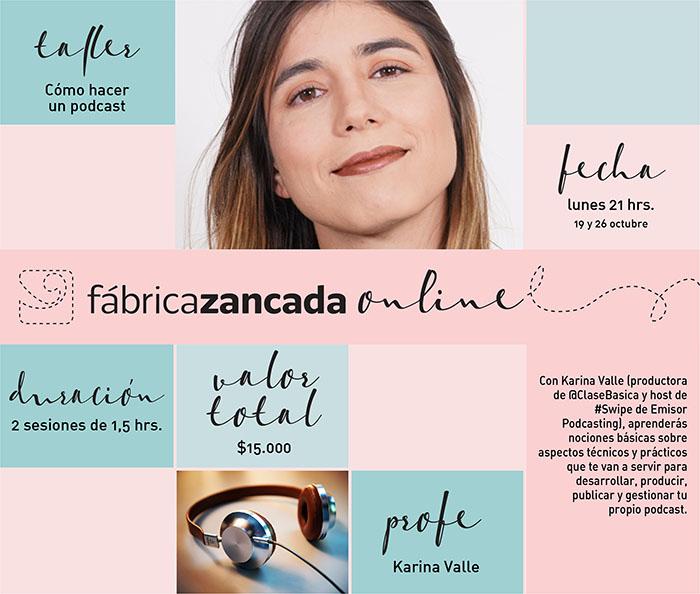 Nuevos talleres de Fábrica Zancada Online en primavera 3