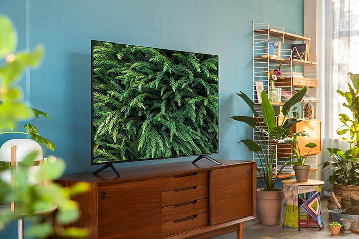 Alta tecnología y color en la línea de televisores Crystal UHD de Samsung 2