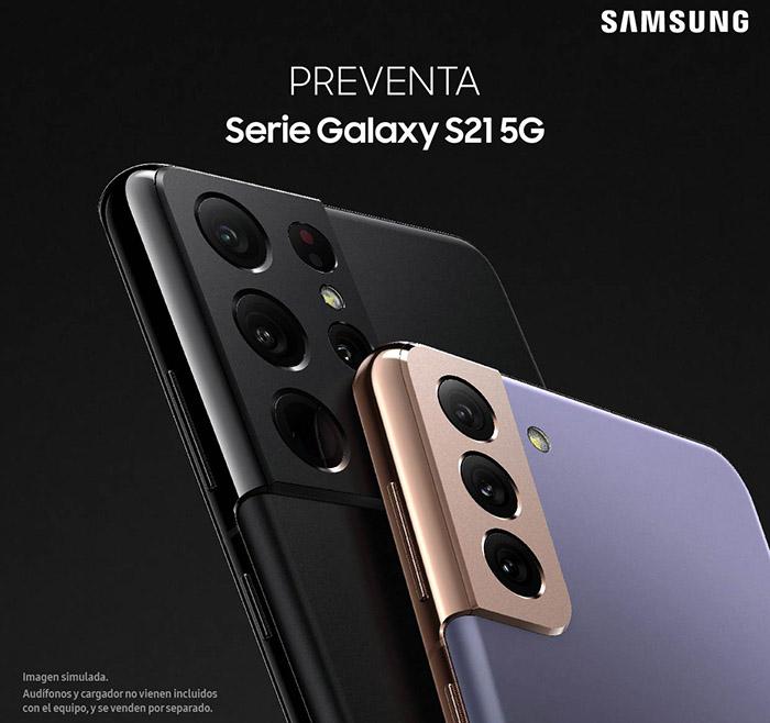 Preventa serie Galaxy S21