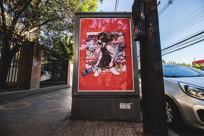 Exposición de arte en Curicó