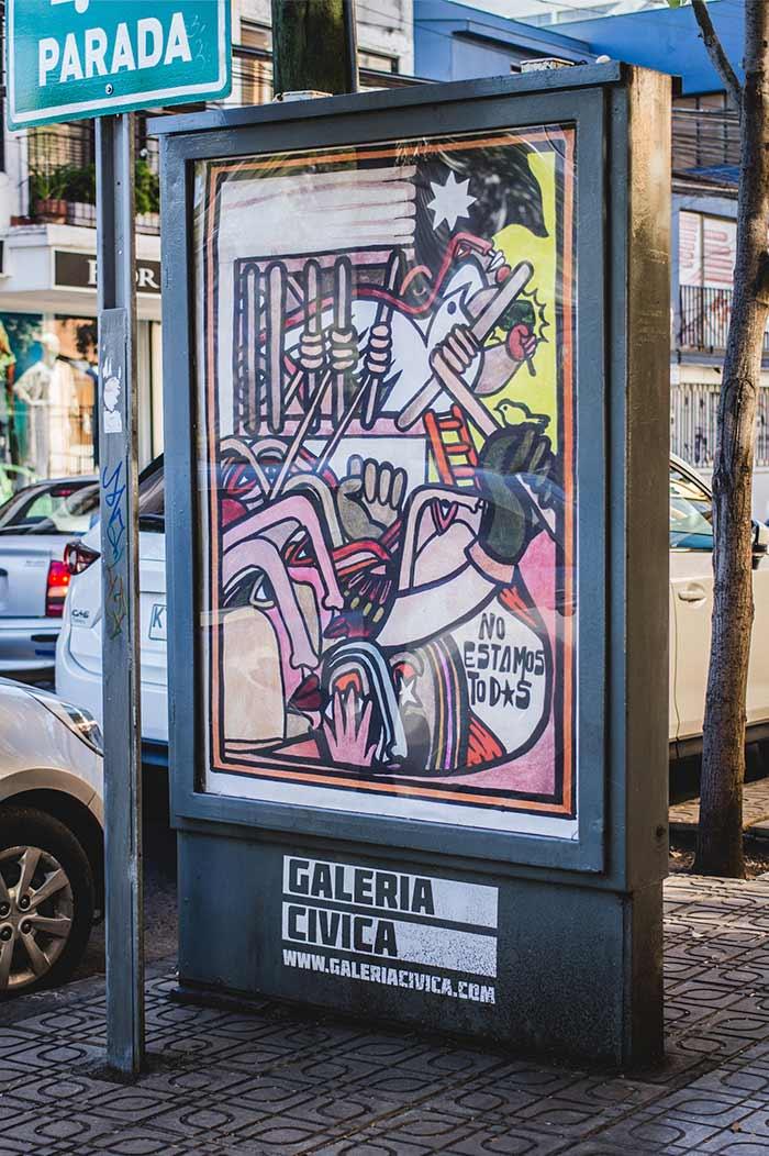 Carlos Neira en Galería Cívica