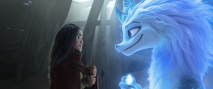 """""""Raya y el último dragón"""", la nueva película de Disney 1"""