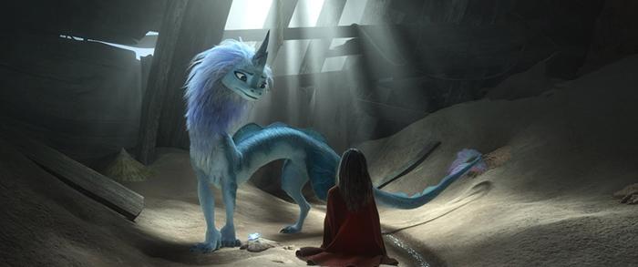 """""""Raya y el último dragón"""", la nueva película de Disney 3"""