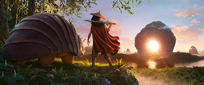 """""""Raya y el último dragón"""", la nueva película de Disney 2"""