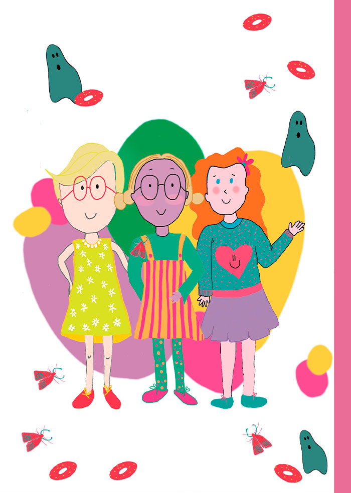 Piel Violeta, libro infantil