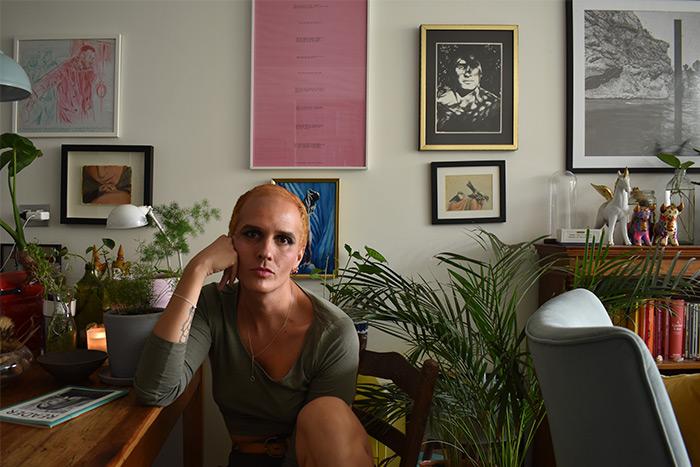 Escritora trans chilena