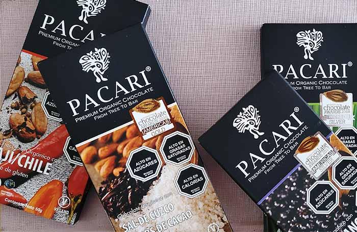 Chocolate Pacari, 100% orgánico, vegano, sin lácteos ni gluten 2