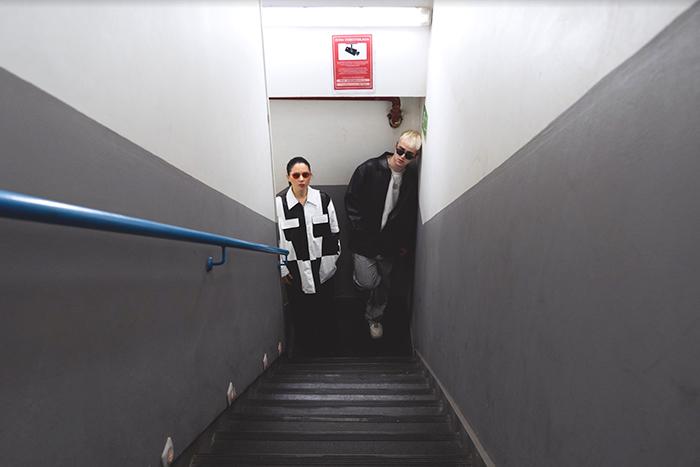 Javiera Mena y Chico Blanco