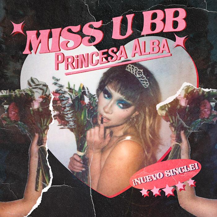 """""""miss u bb"""", canción"""