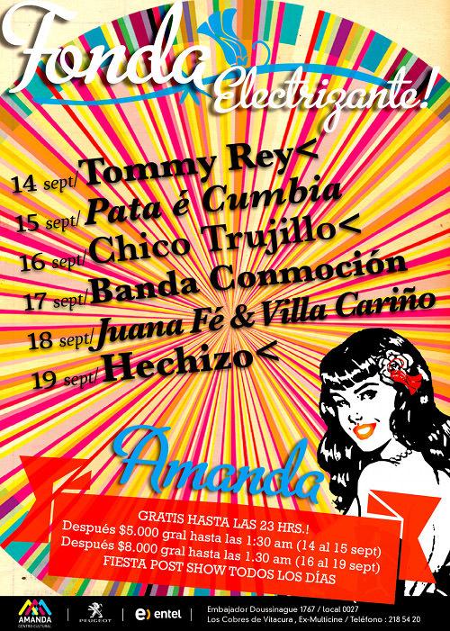 JUE/16/09 Chico Trujillo en vivo 1