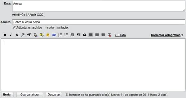 Solución de conflictos: el mail 1