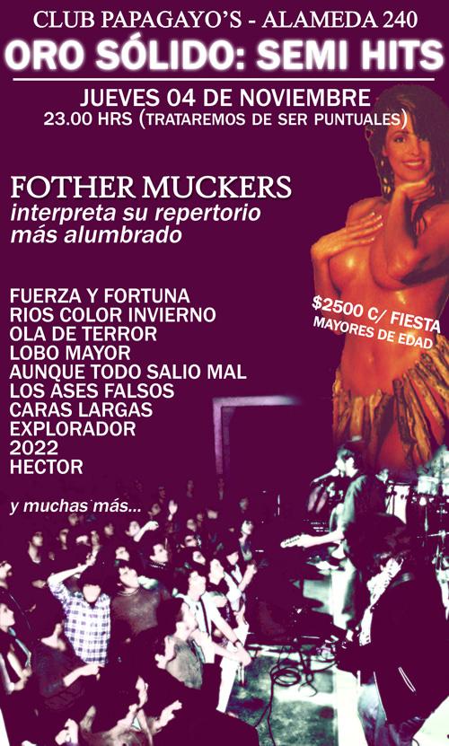 JUE/04/11 Fother Muckers en vivo 1