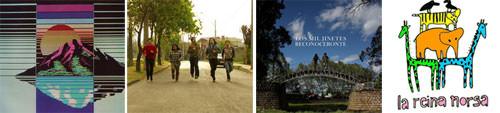 Cuatro bandas nacionales para ver, escuchar y descargar en Abril 1
