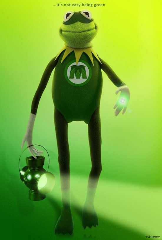Muppets, Segel y Green Lantern 1