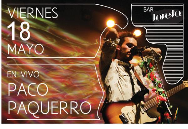 Paco Paquerro en vivo 1