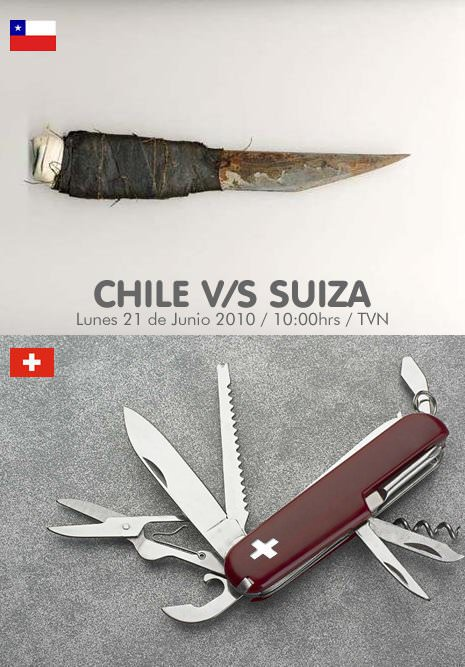 Chile 1- Suiza 0 1