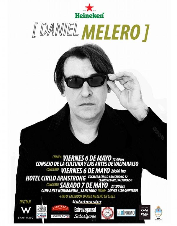 Daniel Melero en Santiago y Valparaíso 1